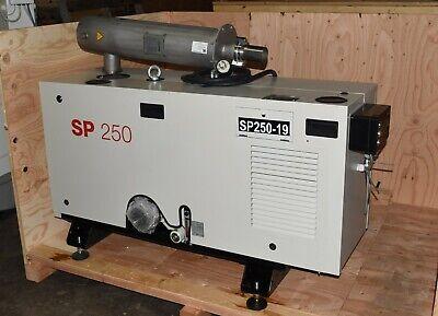 Oerlikon Leybold Screwline Sp250 Dry Compression Vacuum Pump Sp Guard 11827 Hrs
