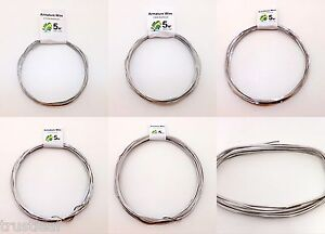 5-metres-Aluminium-Modelling-Armature-Frame-Wire-Pick-Your-Gauge-FREE-POST