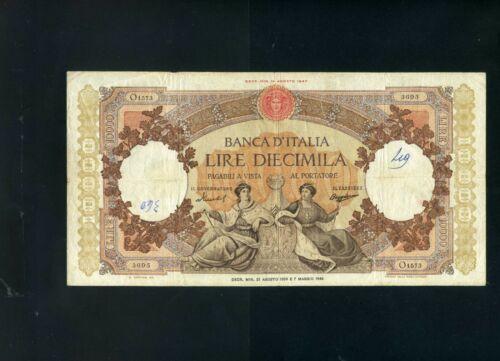 Italy 10000 10,000 lire 1959 P89 - VF