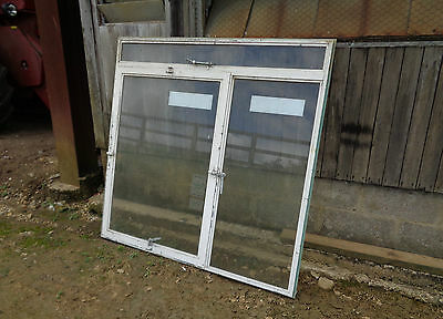 ANTIQUE CRITTALL TILTING METAL WINDOW  5 ft  X 5 ft