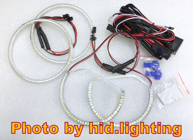 LED SMD White ANGEL EYE HALO RING Lamp Headlight light for LEXUS IS200 IS300