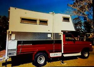 Ford F100 with Slide on Camper Dundowran Fraser Coast Preview