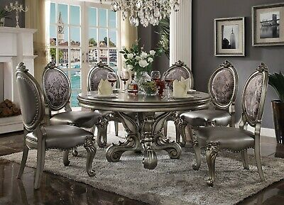 Acme Furniture Versailles 7 Piece Dining Room Set