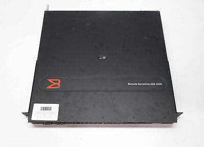 Brocade Serverlron ADX1000 Load Balancer 16-Port Switch SI-1008-1 Dual PSU