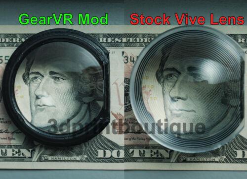 FREE S/H: HTC Vive / Pro GearVR Lens + Adapter Combo Mod