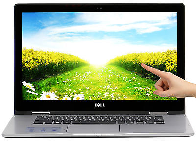 New Dell Inspiron 2 in 1 256GB SSD Intel i5-7200U 2.5GHz 15.6