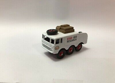 "Vintage Lesney Matchbox Custom Based on 63b Alvis 6X6 ""ESSO GEO RESEARCH"""