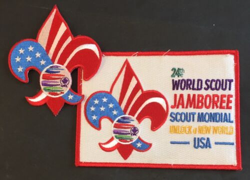 2019 24th World Scout Jamboree BSA Bag & Day Pack Patches