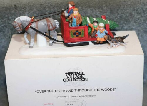 DEPT 56 OVER THE RIVER AND THROUGH THE WOODS HERITAGE SNOW VILLAGE 5654-5