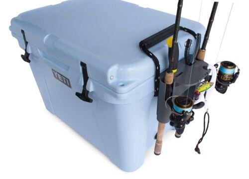 Cooler Fishing Rod Holder for Yeti coolers - LIGHT GRAY