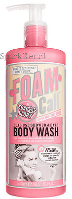 Soap and Glory FOAM CALL Shower Gel/Body Wash & Bubble Bath Foam 500ml