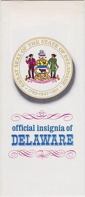 1960's Delaware State Insignia & Symbols Brochure