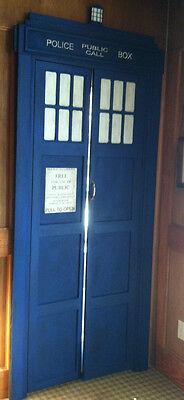 Tardis door covering prototype