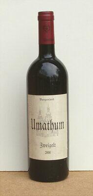 1 Fl. Josef Umathum - Zweigelt 2000 - Rotwein Burgenland - Österreich