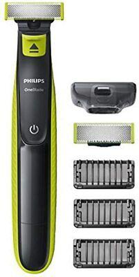 Philips OneBlade QP2520/30 Rasoio Elettrico Regola e Scolpisce 3 Pettini 2 Lame