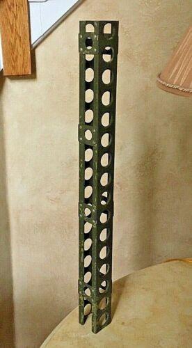 """ORIGINAL - WW2 U.S. NAVY BLIMP DURALUMIN GIRDER -  25"""" LONG ,  8 1/8 OZ."""