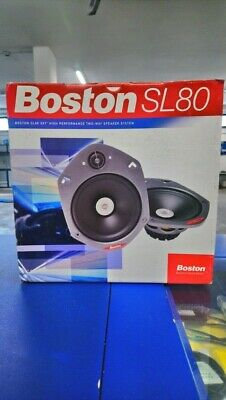 Introvabili car speakers Boston Acoustics SL80