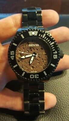 Invicta 2350 Men's Automatic Grand Diver Red Lava Dial – Hard to Find!!!