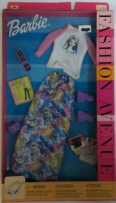 RARE Barbie Fashion Avenue Clothes # 25701 New NIB Dress Shirt Shoes Phone 2002