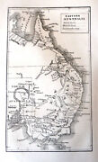 Antique Map Australia