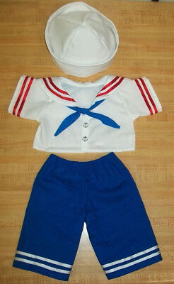 SAILOR OUTFIT ONLY SHIRT PANTS TIE HAT for 20-22