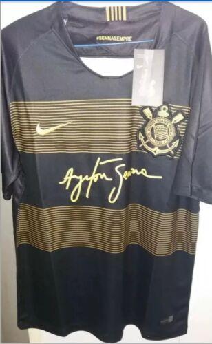 Corinthians 18-19 third kit ( Ayrton Senna)= Medium siz