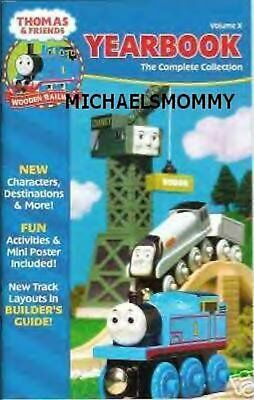 THOMAS the TANK & FRIENDS - YEARBOOK 2004, VOLUME X  **NEW** 51 PAGES***HTF!!
