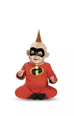 The Incredibles Baby Jack (The Incredibles 2 BABY JACK JACK Infant Disney Costume 6-12 Months -)