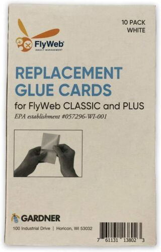 High-quality Original Fly Web Glue Cards- Pack of 10 Units