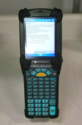 Symbol Motorola Mc9090-gk0hjefa6wr Wireless Barcode Scanner W Battery