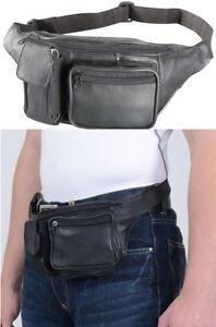 Marsupio da cintura borsello vera pelle tasche cerniera - Porta metro da cintura ...