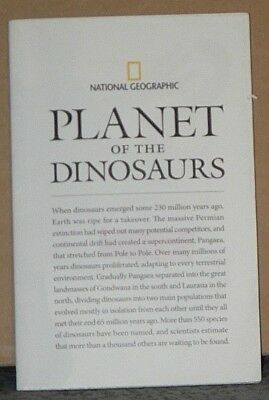 Vintage 2007 National Geographic Supplement Planet of the Dinosaurs