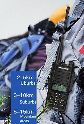 Radio 8800mAH Baofeng UV-9R Plus 18W 8800mAh Walkie Talkie Waterproof Long Range