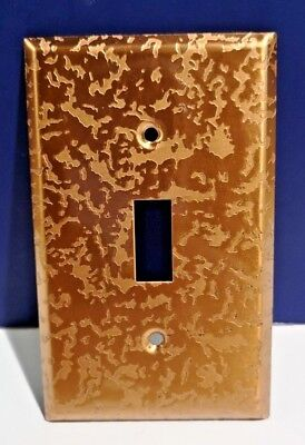 2-PK Single Gang Light Switch WALL PLATE NEW Bell Electric Antique Copper Finish Antique Copper Wall Plate