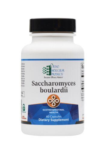 Ortho Molecular Saccharomyces boulardii 60 Capsules Exp. 5/21 FRESH & FAST