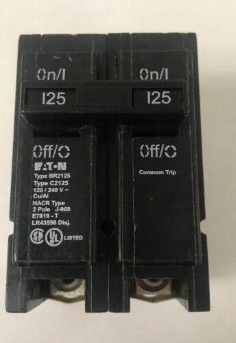 CUTLER HAMMER EATON BR2125 125A 240V 2P NEW