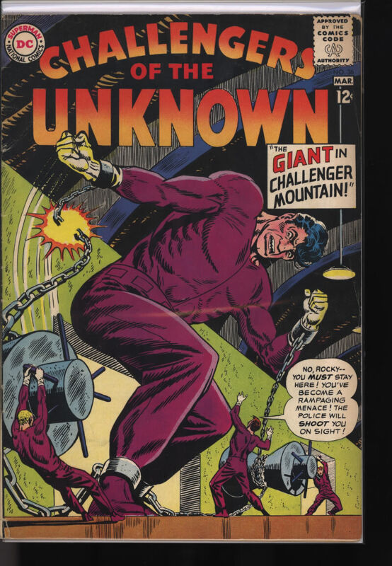 CHALLENGERS OF THE UNKNOWN #36