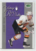 Pavel Bure Jersey Card
