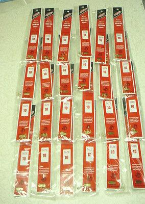 JORGENSEN  960-10 Snelled Gold Egg Hooks - 24 pks / 6 per pack - Size 10