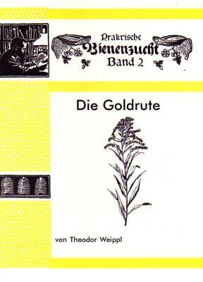 Die Goldrute - eine wertvolle Trachtpflanze für Imker Theodor Weippl ~1928 Repr.