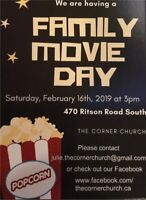 Free Family Movie Day