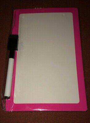 Pink Dry Erase Board With Marker Erasure - 8.5 X 5.5