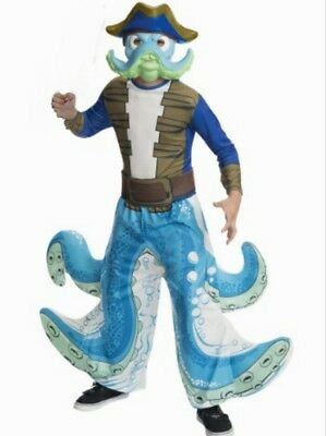 Skylander Wash Buckler Costume Size 6 Small New Childs Halloween costume 4 6