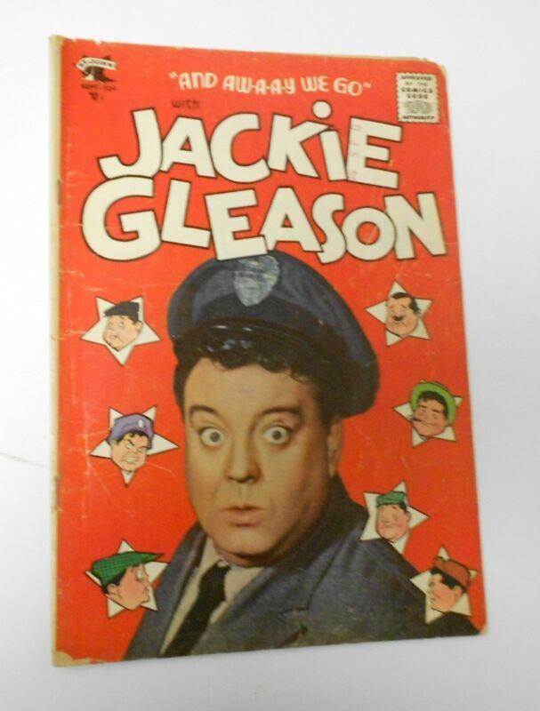 JACKIE GLEASON #1 VG+ 4.5 St John 1955 Honeymooners