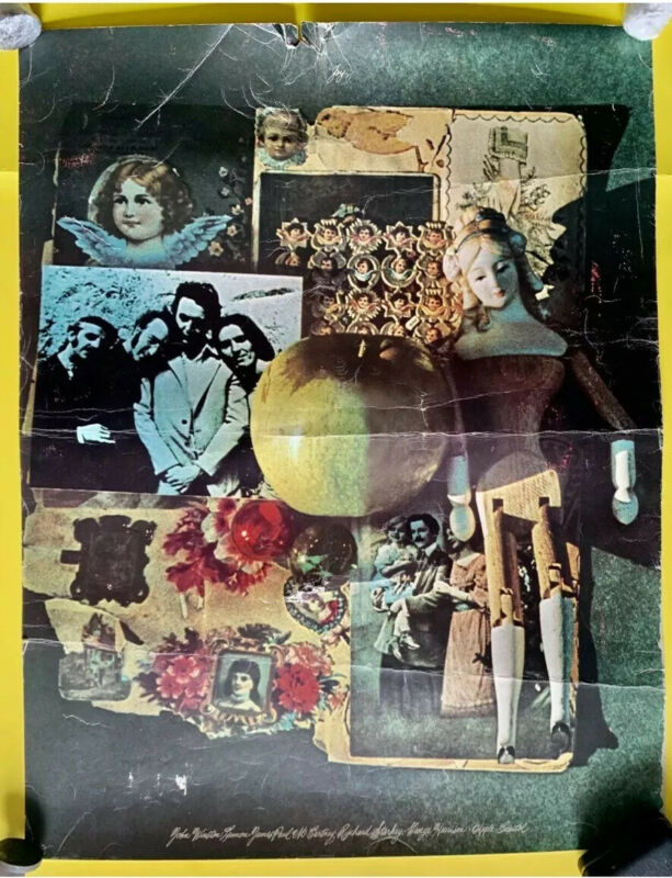 "The Beatles (White Album) ""JOY"" Promotional Poster 1968!"