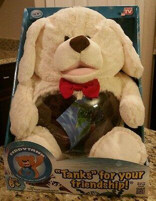 •NIB• As Seen on TV TEDDY TANK Puppy Fish Tank, Snacks, Coins, Toys!