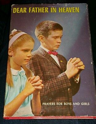 Dear Father In Heaven Prayers For Boys  And Girls 1963 Schlesselmann Ahrens Hcdj