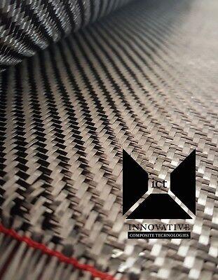 Carbon Fiber Fabric / Cloth:  2x2 Twill Weave - 5.7 oz, 1 yard, 50