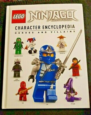 LEGO Ninjago Encyclopedia Heroes & Encyclopedia by Claire Sipl (2015 Hardcover)
