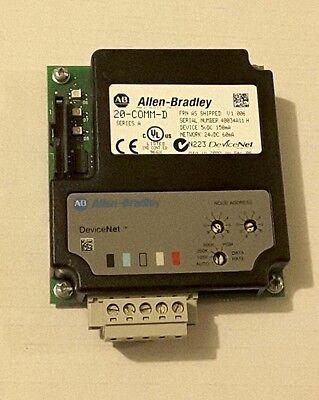 Allen Bradley 20-comm-d Series A Devicenet Adapter For Powerflex
